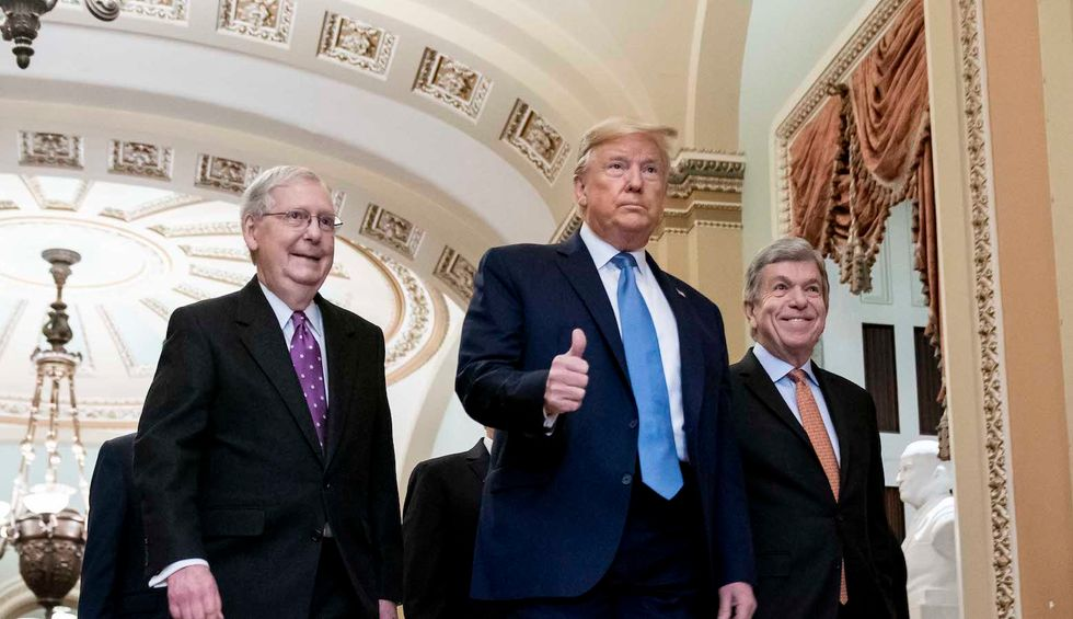 Trump gets a lot of goodies in McConnell's COVID-19 'relief' bill — and the American people get shafted
