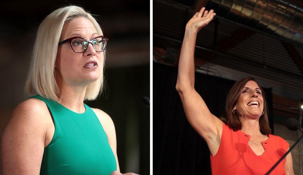 'I couldn't agree more': Republican Martha McSally joins Democrat Kyrsten Sinema in slamming Rand Paul