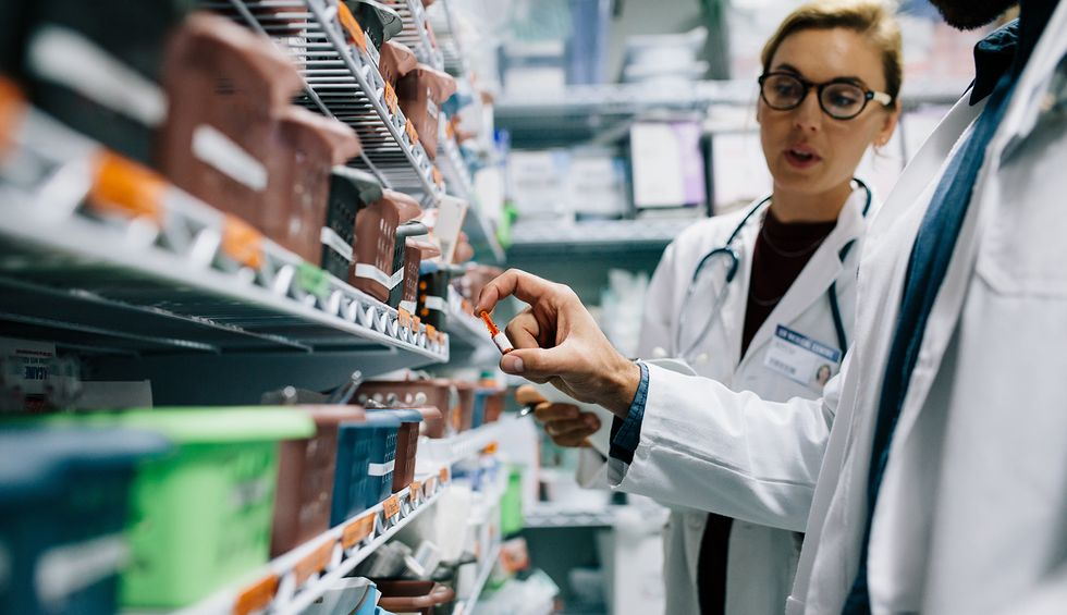 Pharmacists are seeing unusual and fraudulent prescribing activity as doctors hoard unproven coronavirus drugs endorsed by Trump