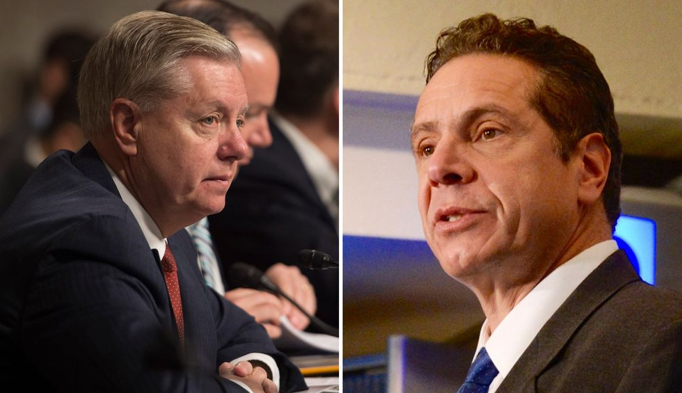 Lindsey Graham agrees with Gov. Andrew Cuomo's coronavirus recommendations: 'Makes perfect sense to me'