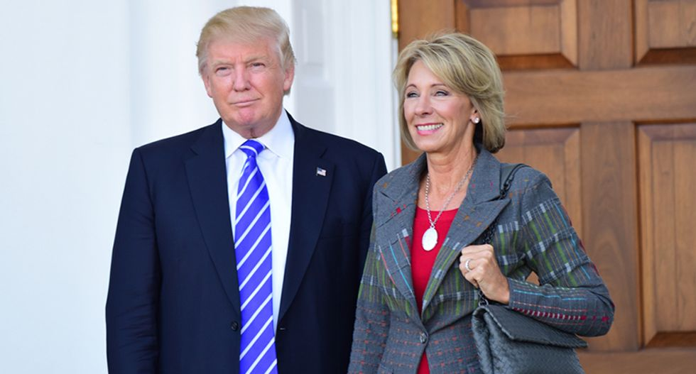 Betsy DeVos' right-wing school indoctrination program betrays a fundamental misunderstanding of the differences between public and private schools