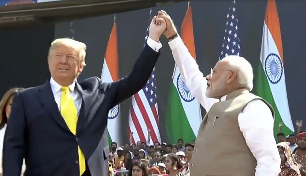 Trump's trip to India: Fluffed by another right-wing strongman