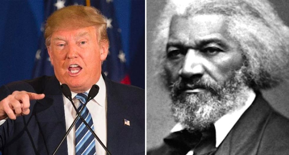 Do we want the America of Frederick Douglass ⁠— or Donald Trump?