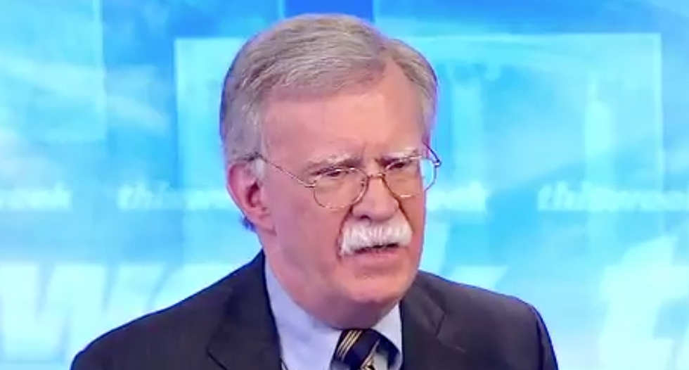 John Bolton contradicts Trump and Pence on ISIS 'Defeat'