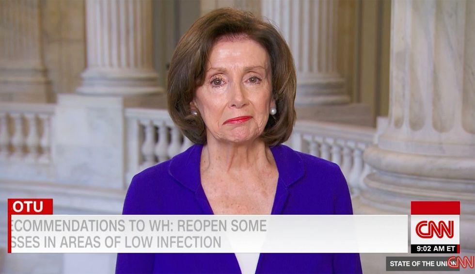 Watch Speaker Pelosi slam Trump's coronavirus response: 'As the president fiddles, people are dying'