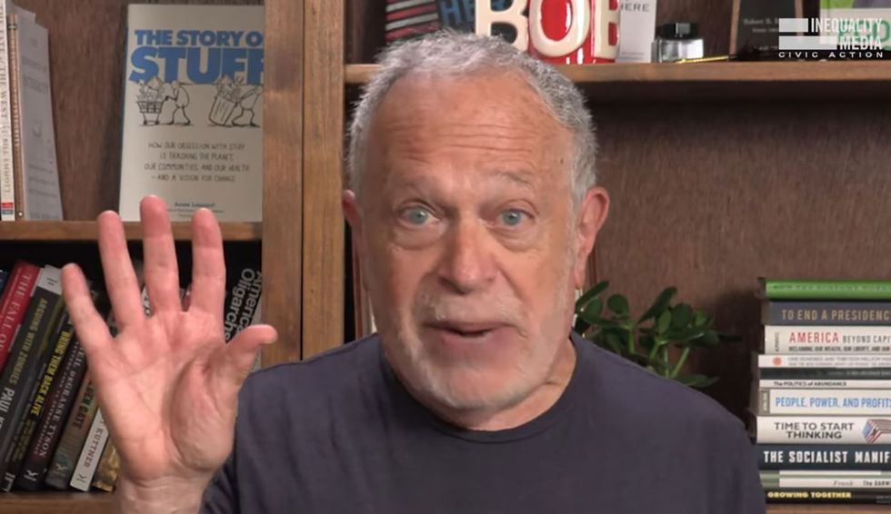 Trump is a symptom of the rigged system that was already dividing us: Robert Reich