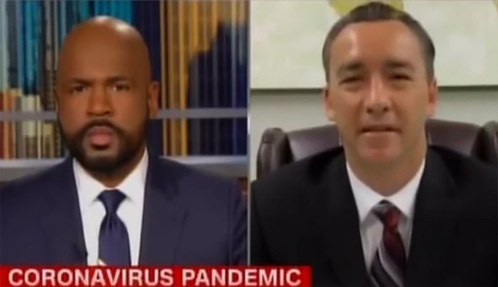 Louisiana pastor grilled by CNN for plan to pack 27 buses full of worshipers and haul them to church during coronavirus crisis