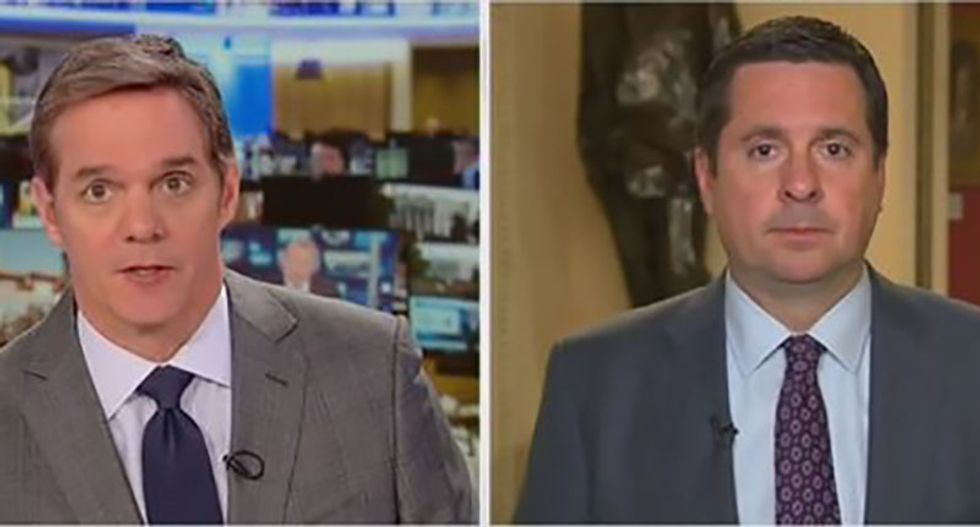 Trump-lover Devin Nunes goes off the rails on Fox — demands Mueller prosecute Hillary Clinton for Russia collusion