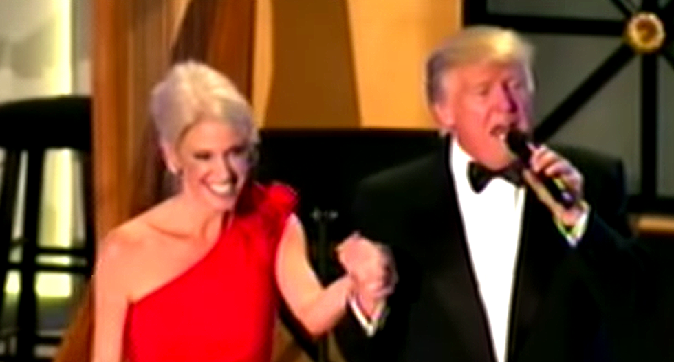 Trump attacks advisor Kellyanne Conway's 'loser' husband — and he hits back with the perfect response