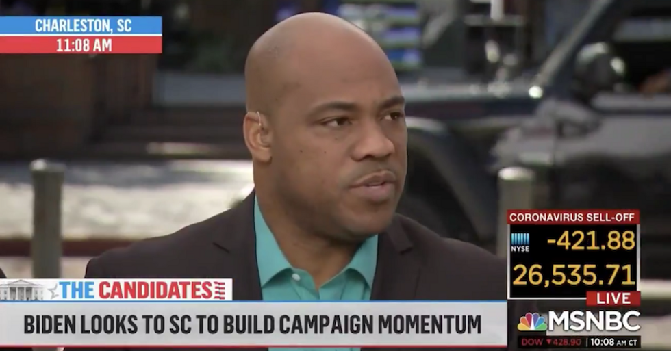 'The public doesn't really decide': MSNBC guest under fire for saying voters won't choose Dem nominee