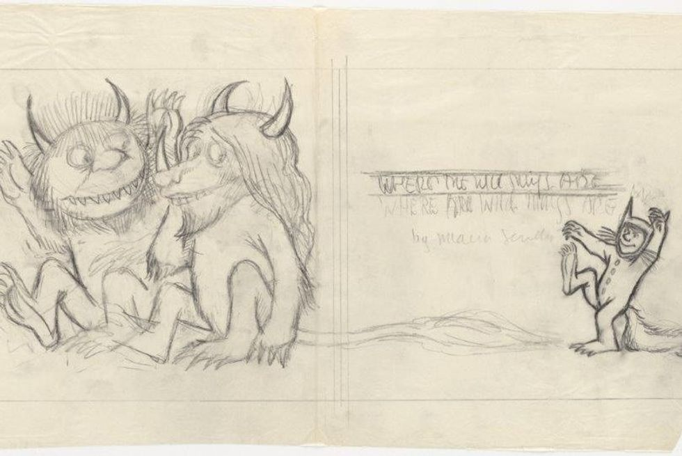 From 'Wild Horses' to 'Wild Things': A window into Maurice Sendak's creative process