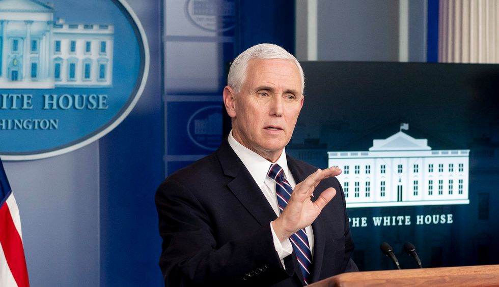 Watchdog group finds a key Pence staffer might have 'conflicting financial interests' in the coronavirus response