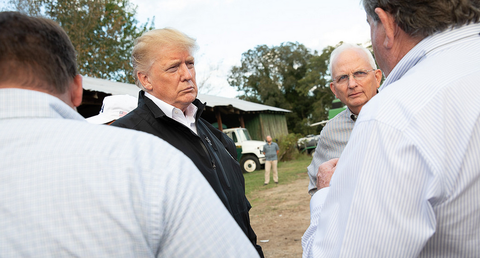 White House officials are balking at the ballooning cost of Trump's botched farm bailout: report