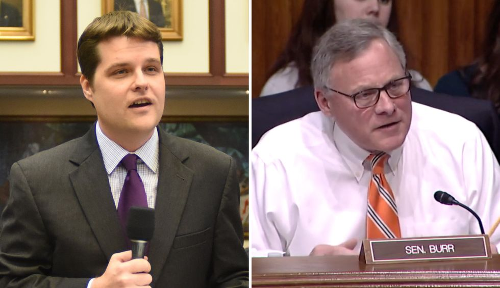 Matt Gaetz calls for removal of 'corrupt' fellow GOP lawmaker: 'A pattern is being revealed'