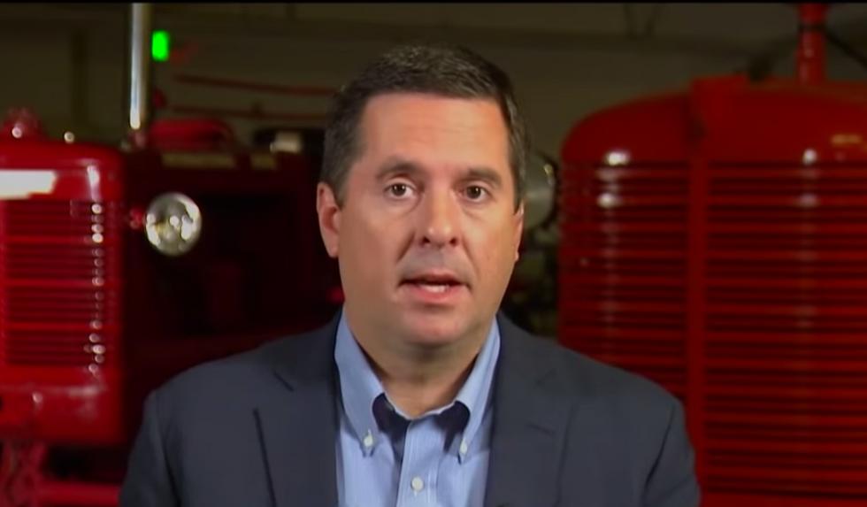 Devin Nunes actually tells Fox & Friends that we should just 'burn' the Mueller report