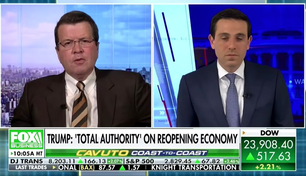 'The Constitution disagrees': Fox Business segment blows up Trump's claim of 'mutiny' by governors