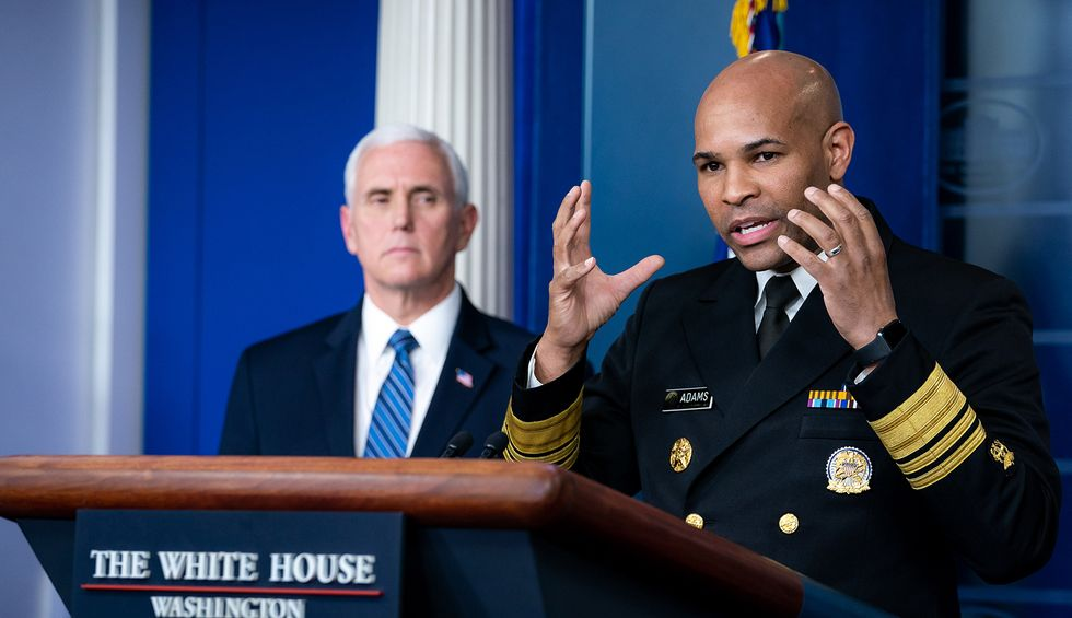White House sidelines Surgeon General Adams after he spoke about COVID-19's devastating impact on communities of color: report