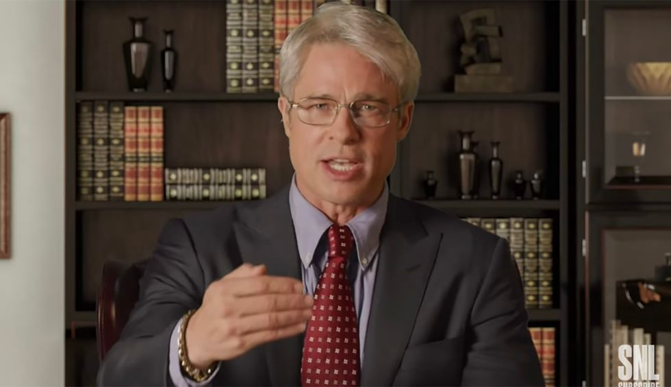 Watch: Brad Pitt makes surprise appearance on SNL as Dr. Anthony Fauci — and shoots down everything Trump has said