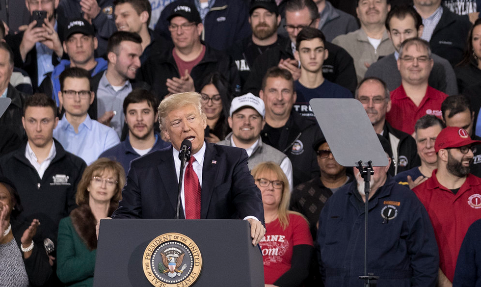 Trump's electoral map has shifted dramatically — and it doesn't bode well for his 2020 chances