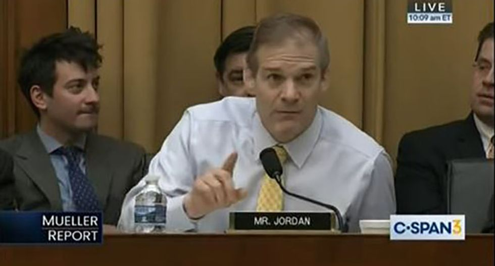 Hearing erupts in laughter as Democrat shuts down GOP Jim Jordan's Mueller rant with one simple question