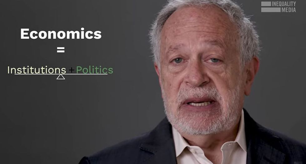 Robert Reich: Here's everything you need to know about the new economy