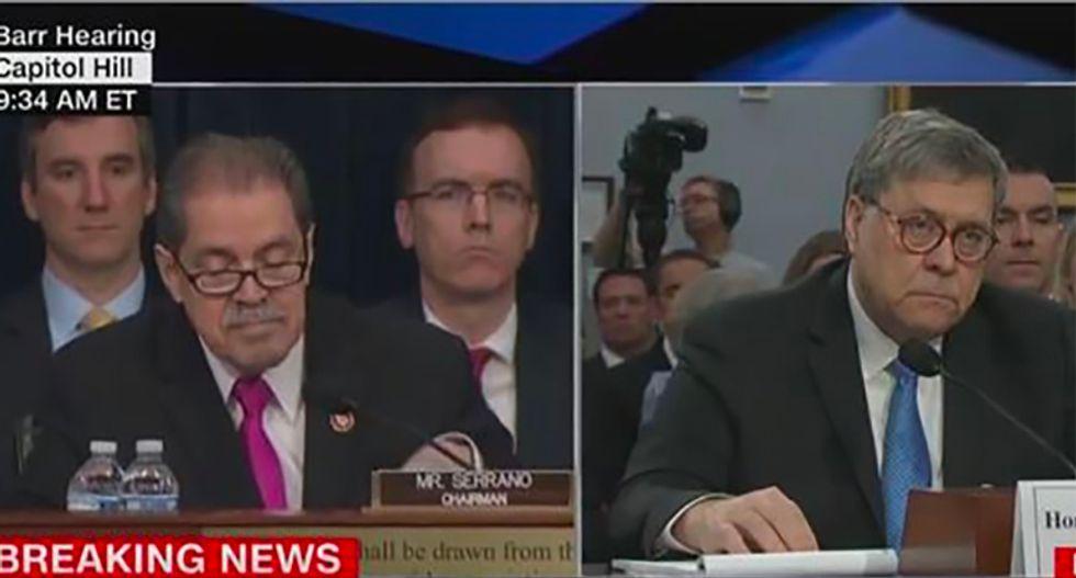 Watch: Dem congressman kicks off Barr hearing with expert tear down of AG's abysmal DOJ management
