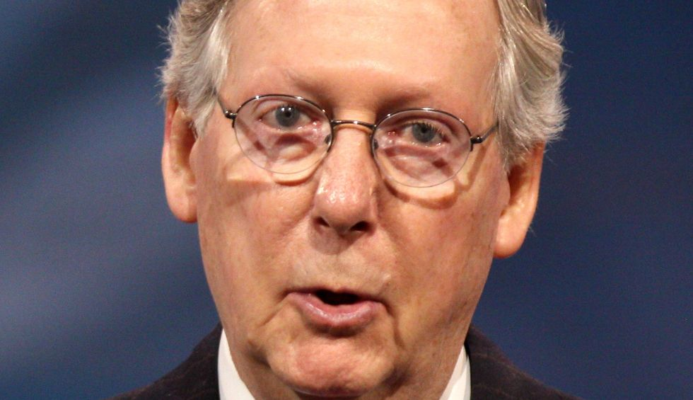 Mitch McConnell gives GOP candidates permission to dump Trump