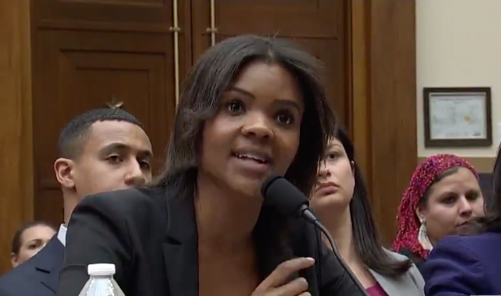Trump fan Candace Owens goes down in flames as Rep. Ted Lieu plays her bizarre Hitler remarks in a public hearing