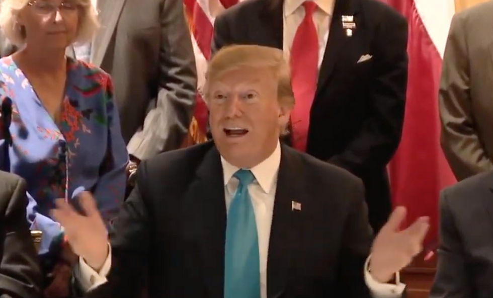 Trump complains that 'everybody would go crazy' if the military 'got a little rough' with migrants at the border