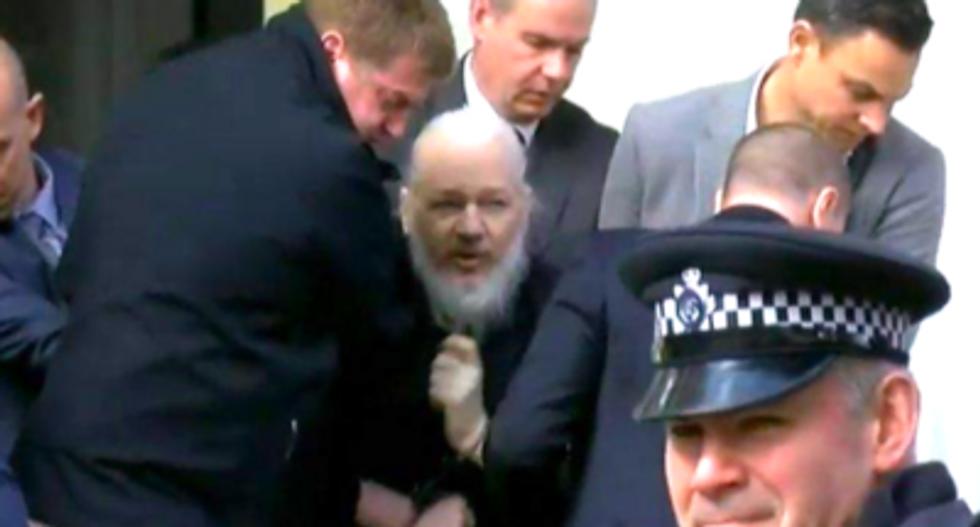 Julian Assange arrested in London after Ecuador withdraws asylum