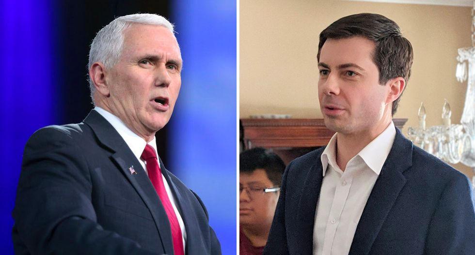 Christians revolt: Students at this top evangelical university are demanding Pence step down as commencement speaker — and suggesting Buttigieg deliver the address instead