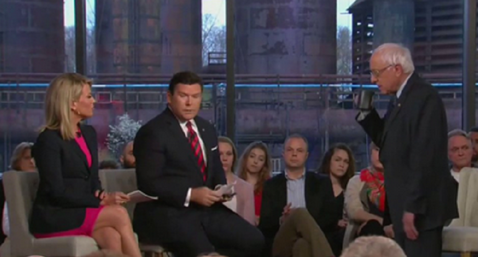 Fox News tried to humiliate Bernie Sanders in a town hall — and it hilariously backfired
