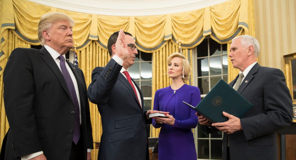 'If Mnuchin doesn't comply, throw him in jail': House Democrats subpoena Trump tax returns