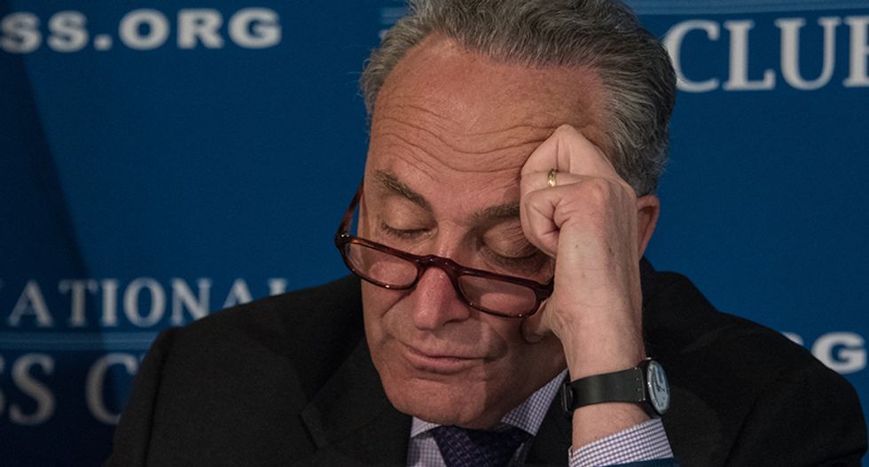 Senate Minority Leader Chuck Schumer demands hearings over whistleblower complaint — says the Republican-led Senate has 'remained silent and submissive'