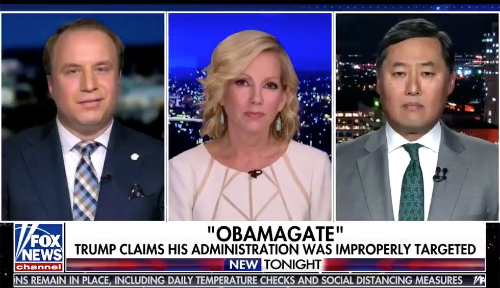 Watch: Fox News host abruptly ends segment after attorney destroys fake Obamagate 'scandal' in just 4 words