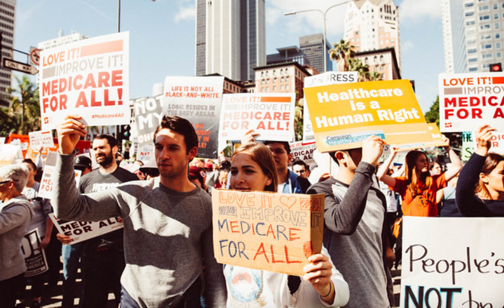 Private health insurance stocks 'in free fall' as Medicare for All gains momentum