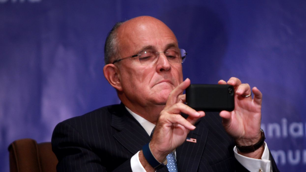 Is Rudy Giuliani quietly scrubbing top Trump officials and supporters from his Twitter following list?