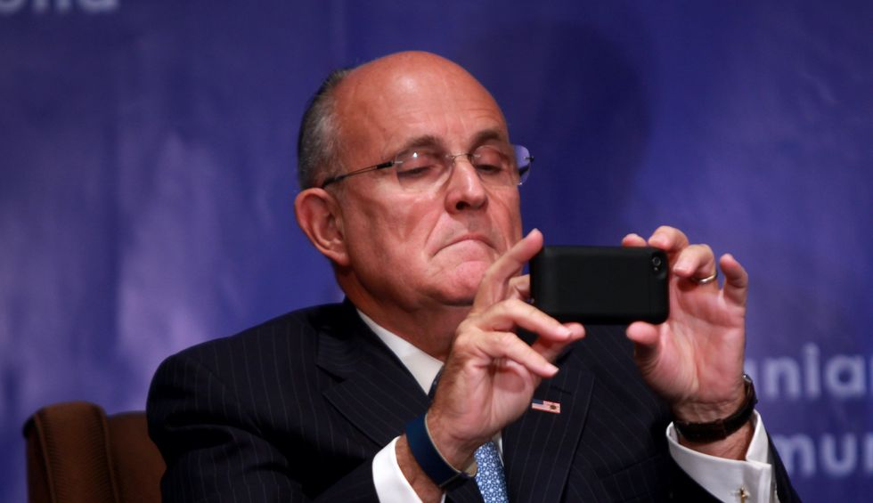 Rudy Giuliani collaborated on smear of Joe Biden with 'active Russian agent' who's now under US Treasury sanctions