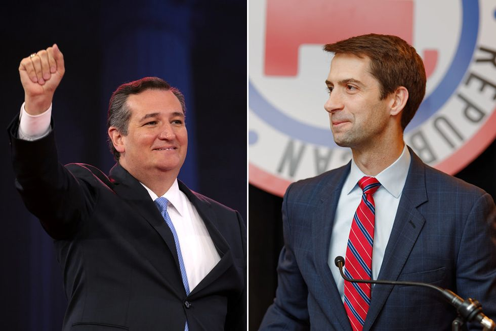 'What in the hell are we doing?': Ted Cruz and Tom Cotton clash over coronavirus spending — foreshadowing a bitter battle in post-Trump GOP