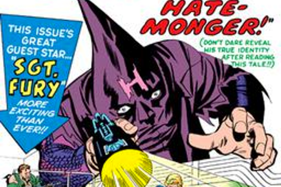 The Hate-Mongers: Characterizing racism in comics