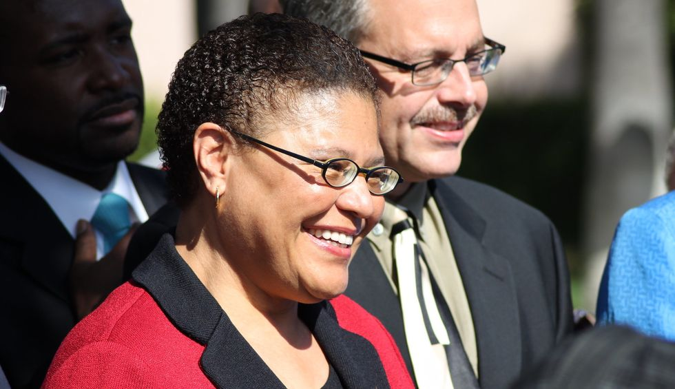 Here's why everyone is suddenly talking about Karen Bass as Biden's potential VP