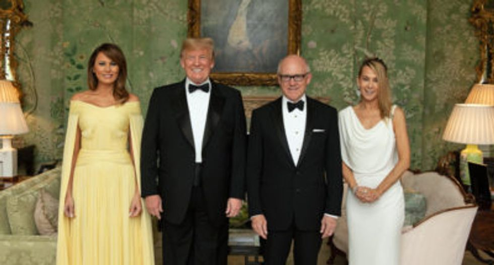 Trump donor Woody Johnson has turned America's UK embassy into chaos: report
