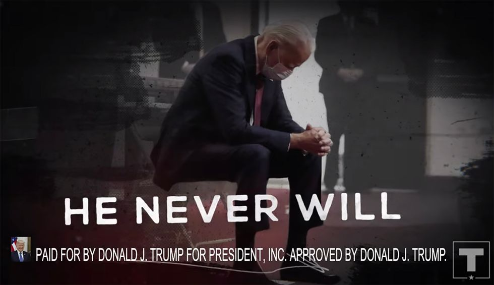 Watch: Fact-checker meticulously breaks down how the Trump campaign 'egregiously altered' Biden photos in new ad