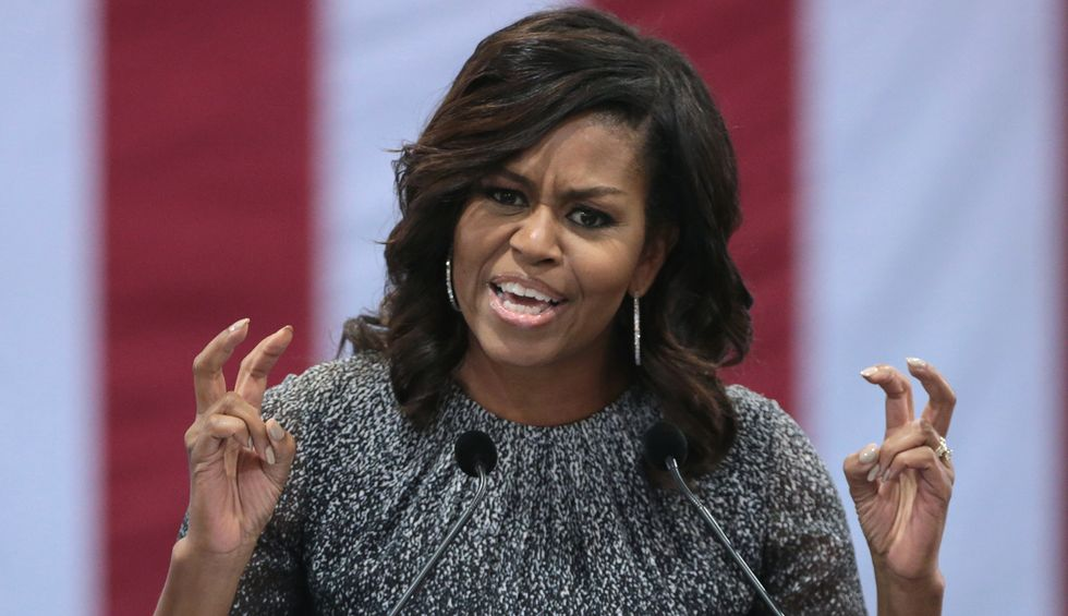 'She crushed you': Internet piles on Trump for snarling tweet aimed at Michelle Obama