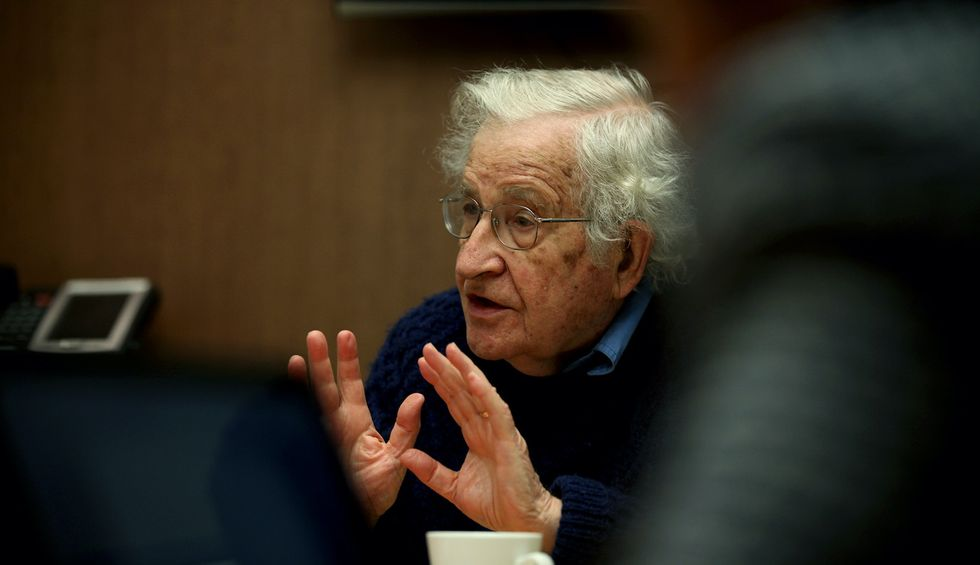 Noam Chomsky: The world is facing the most dangerous moment in human history