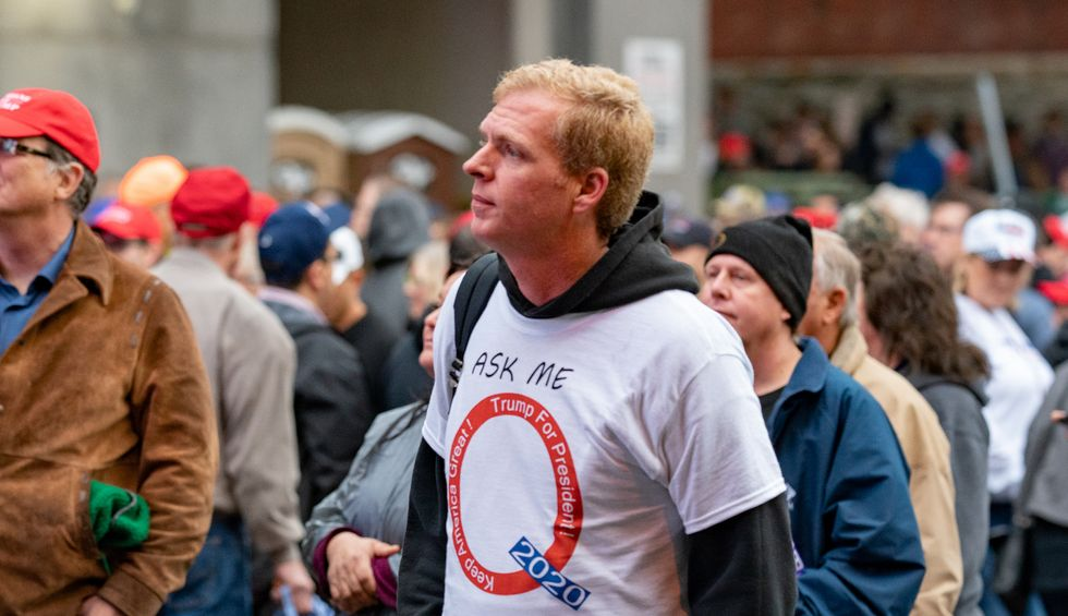 The new American religion of QAnon is giving the right-wing an army of useful idiots