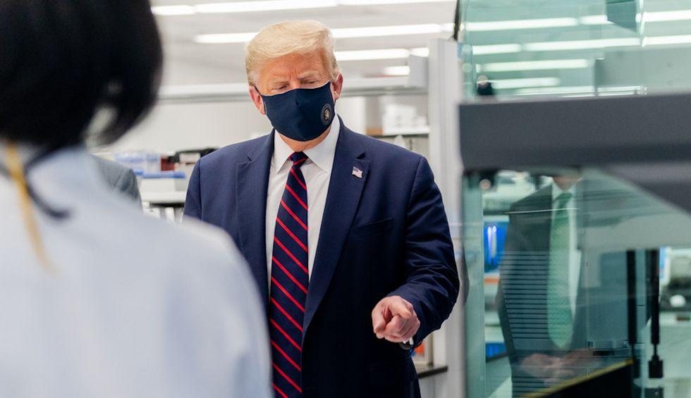 Revealed: Trump wasted half a billion on 10,000 ventilators that won't arrive until September 2022