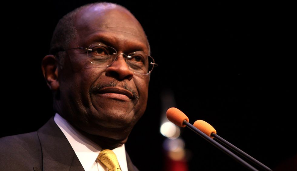 Herman Cain's Twitter account creeps everyone out by continuing to post after his death