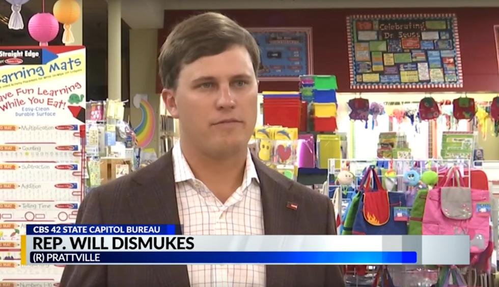 Alabama state lawmaker resigns as pastor after attending party for KKK leader