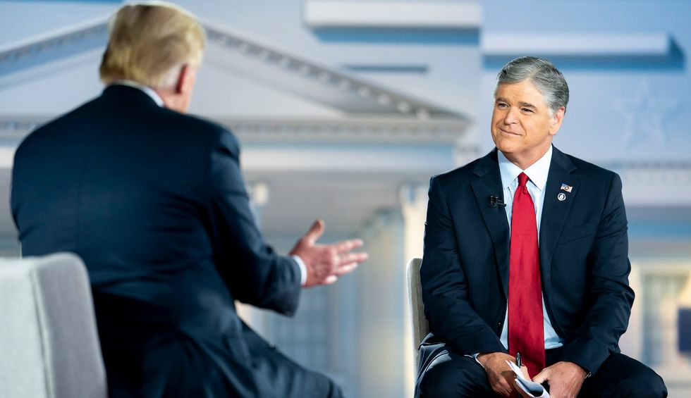 Sean Hannity secretly believes Trump is 'crazy' — and gets treated 'like Melania': book